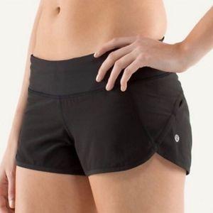 Lululemon Black Speed Shorts 2